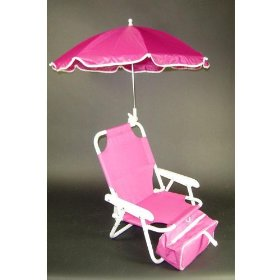 Redmon Baby Beach Chair and Matching Umbrella