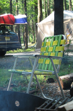 A simple camping chair solution.