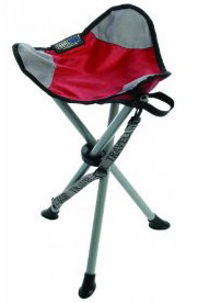 "The Travel Chair's ""Slacker Stool"" backpacking camping chair."